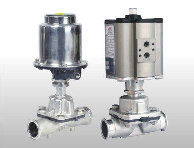 Pneumatic single double acting diaphragm valve aira euro aluminum actuator diaphragm valve ccuart Image collections